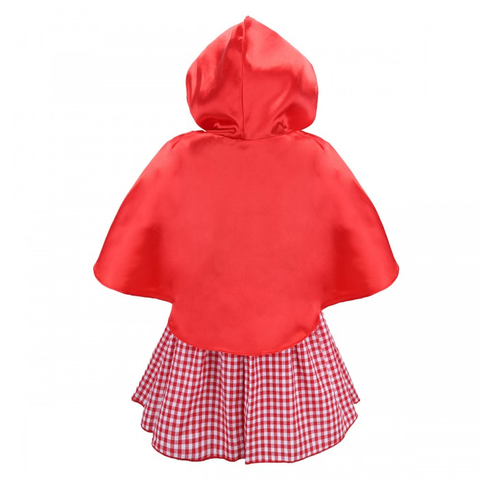 Toddler Infant Baby Girl Plaid Dress Halloween Costume /& Cape Cosplay Outfit Set